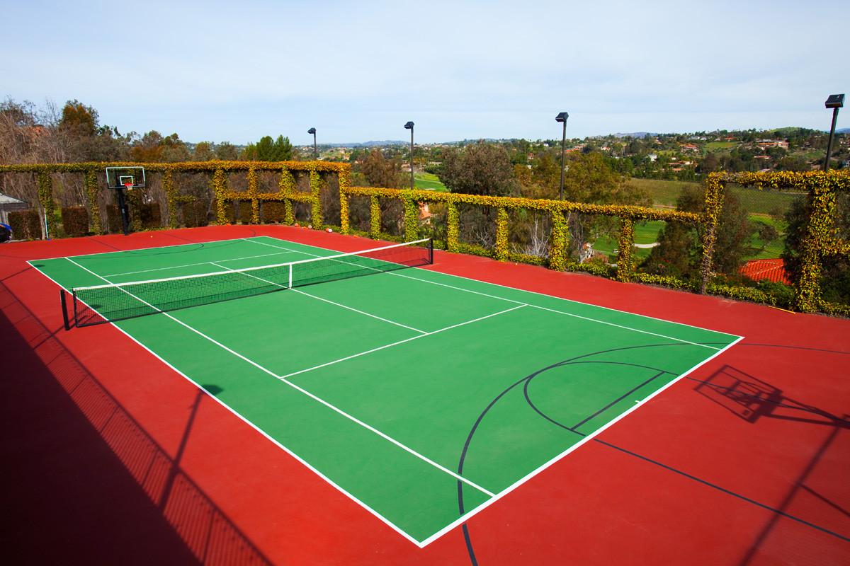 Строительство теннисных кортов под ключ