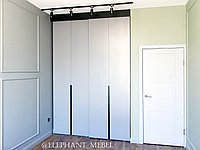 Современный шкаф-купе в детскую комнату