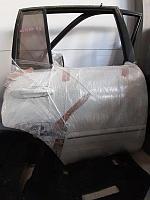 Дверь Toyota Land Cruiser J100 4.7 2UZ-FE 2003 задн. прав. (б/у)