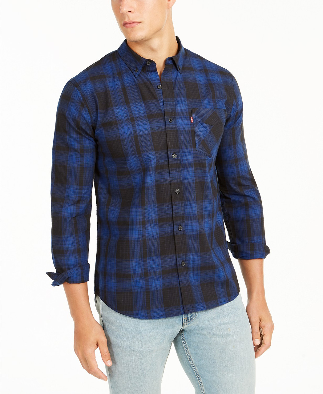 Levi's Мужская рубашка-Т1
