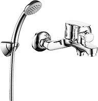 Смеситель для ванны и душа настенный Milardo Horizont HORSB02M02