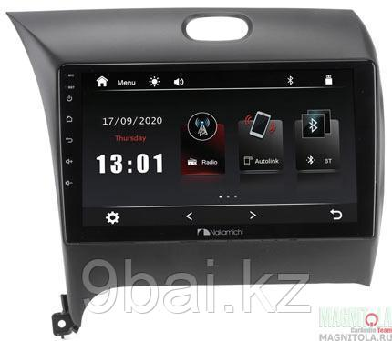 "ШГУ KIA Cerato 12-18 (Nakamichi NTA-1803) 4x50Вт,RDS,MP5,USB,BT,2.5D экран,MirrorLink, 9"""