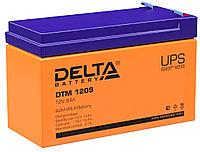 Аккумулятор Delta DTM 1209 (12В, 9Ач), фото 1