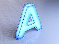 Световые объемные буквы, фото 1