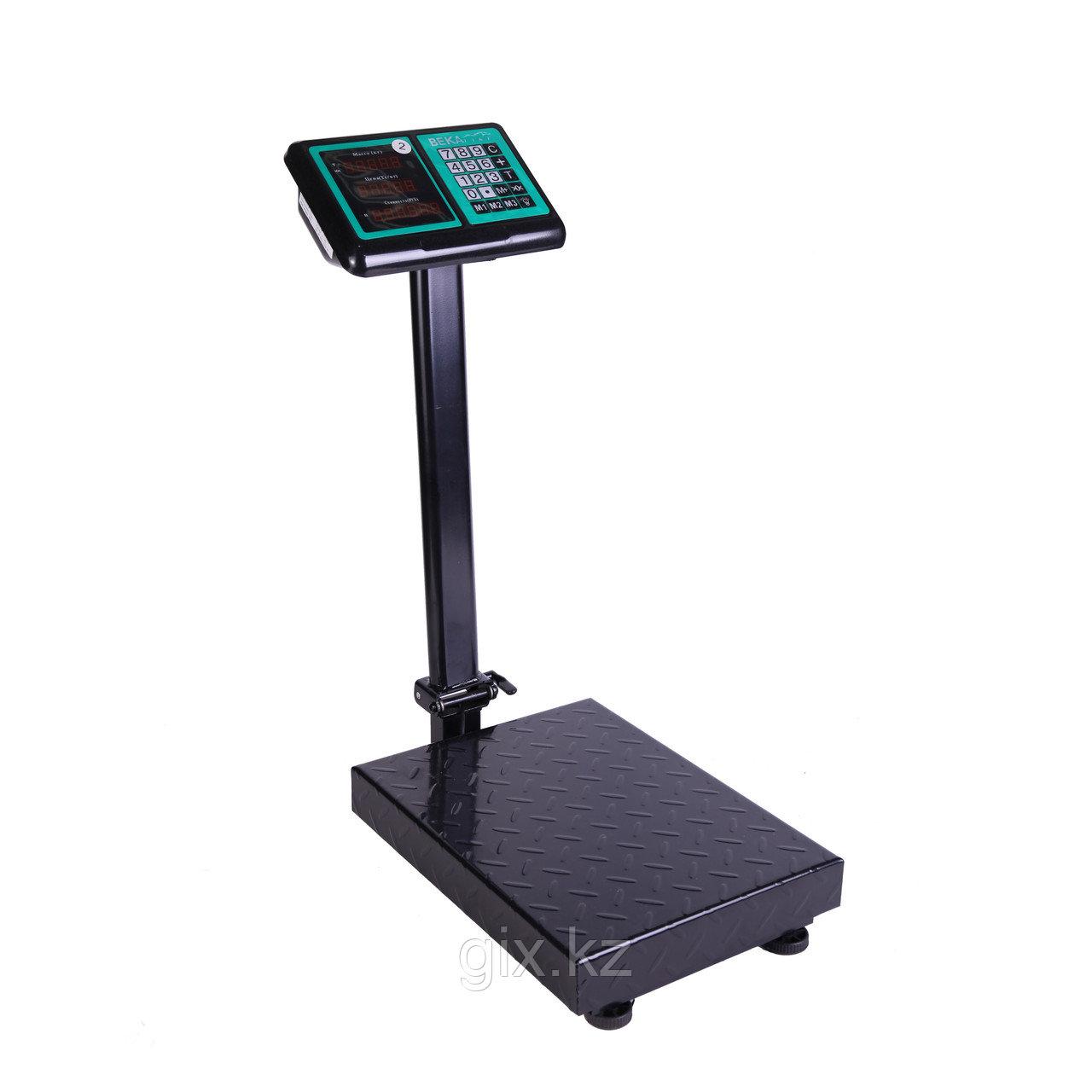 Торговые весы, платформенные, напольные до 300 кг
