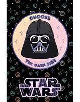 """Блокнот """"Hatber"""", 48л, А7, клетка, 3 цветный блок, ламинация, на клею, серия """"Звёздные войны - Star"""