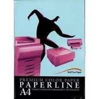 Бумага цветная PAPERLINE цвет Blue/голубой, А4, 80 гр/м2, 500 листов