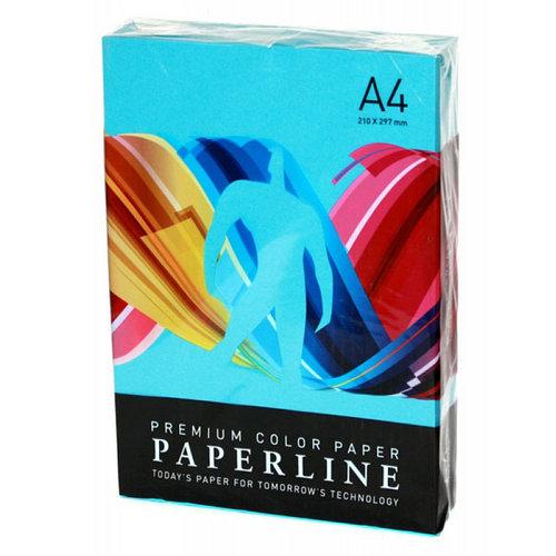 Бумага цветная PAPERLINE, цвет OCEAN А4, 80 гр/м2, 500 листов