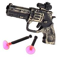 """Пистолет """"Револьвер"""", стреляет присосками"""