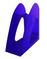 Лоток вертикальный 235*90*240 синий тонированный