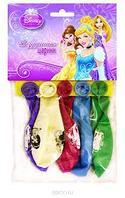 Веселая затея Набор воздушных шаров Принцессы 5 шт, цвет разноцветный