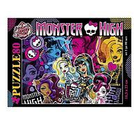 Пазлы 80 элементов 165х230 мм., Школа Монстров-Monster High