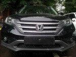Защита радиатора Honda CR-V IV 2012- 2.0 black