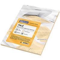 Бумага цветная OfficeSpace pale А4, 80 г/м2, 50 листов (оранжевый)