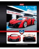 "Блокнот ""Hatber"", 160л, А6, твёрдый переплёт, серия ""Авто Marussia"""