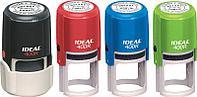 Автоматическая оснастка для печати Trodat Ideal 400 R, круглая, диаметр 40 мм., разные цвета