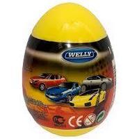 Модель машины welly 1:60 яйцо-сюрприз ассортим 36шт 52020e