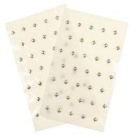 Стразы для волос на тканевой основе (набор 2 листа) МИКС 14х8,8 см 1123358