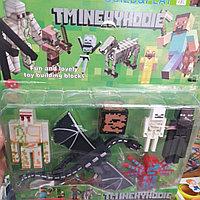 Набор Фигурка Minecraft 2 Дракон для Детей Игрушка