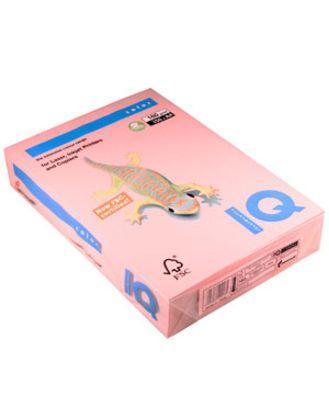 Бумага цветная IQ Color цвет розовый А4, 160 гр/м2, 250 листов