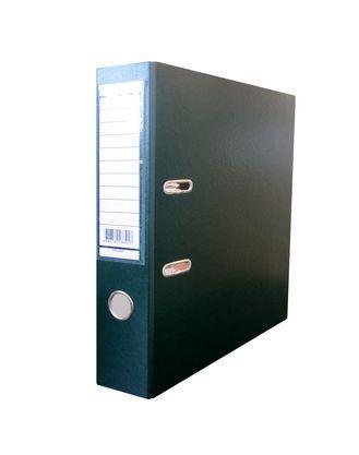 """Папка-регистратор """"NN"""", А4, корешок 70 мм., с арочным механизмом, бумвинил, зеленая"""