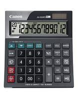 Калькулятор настольный Canon AS-220RTS 12-разрядный