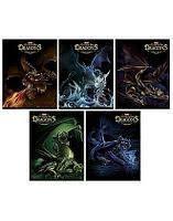 Тетрадь 48л А5 выб лак серия -Легенды о драконах