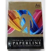 Бумага цветная PAPERLINE цвет Chocolate/шоколадный А4, 160 гр/м2, 250 листов