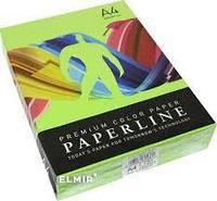 """Бумага цветная PAPERLINE """" зеленый"""" А4, 155г/м2, 250л."""