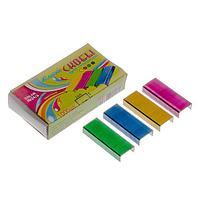 Скобы для степлера №24/6 цветные Josef Otten 24