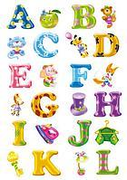 Стикеры буквы
