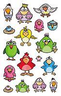 Стикеры птицы