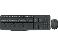 Клавиатура+мышь беспроводные Logitech MK235