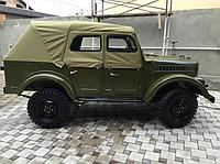 Тент ГАЗ-69 А тяжелая ткань (хаки) 2-ух дверный