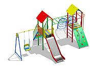 Игровой комплекс для детей от 5 до 12 лет, длина 4650 мм