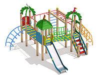 Детский игровой комплекс Ямайка для детей от 5 до 12 лет, длина 4900 мм