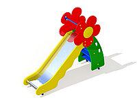 Горка-скат Цветочек, для детей от 3 до 7 лет