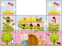 "Кубики Stellar ""Дворец принцессы"", 10 штук"