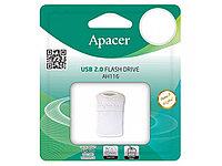 Флешка USB Apacer AH116, 32GB, Белый flash AP32GAH116W-1, USB 2.0, white