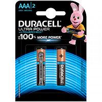 Батарейка Duracell UltraPower AAA (LR03) алкалиновая, 2BL