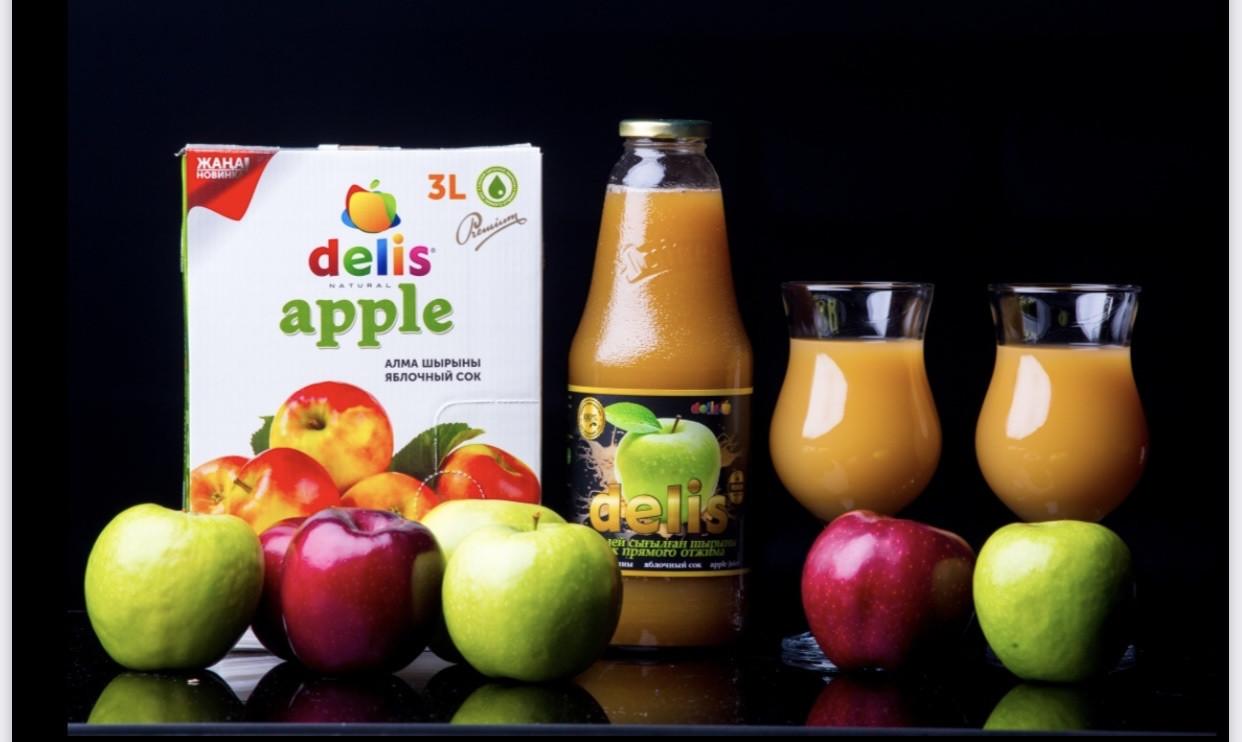 Яблочный сок Delis 1л - фото 1
