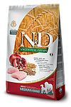 Chicken&Pomegranate Medium/Maxi Adult, курица, гранат, спельта, овес, N&D, уп. 12кг.