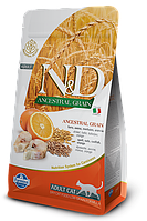 N&D треска, апельсин, спельта, овес, уп.1,5кг