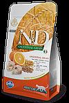 N&D треска, апельсин, спельта, овес, уп.5кг