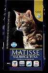 Matisse лосось, тунец, уп.1,5кг.