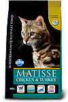 Matisse курица, индейка, уп.1,5кг.