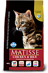 Matisse курица, рис, уп.1,5кг.