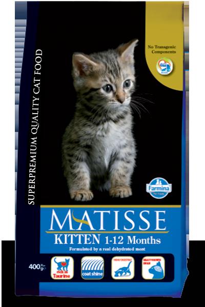 Matisse для котят, курица, уп.1,5кг.