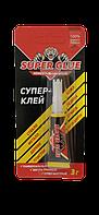 Супер-клей SUPER GLUE, 3г.