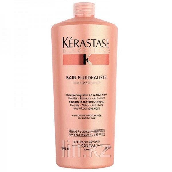 Безсульфатный шампунь для гладкости и легкости волос Kerastase Discipline Bain Fluidealiste 1000 мл.